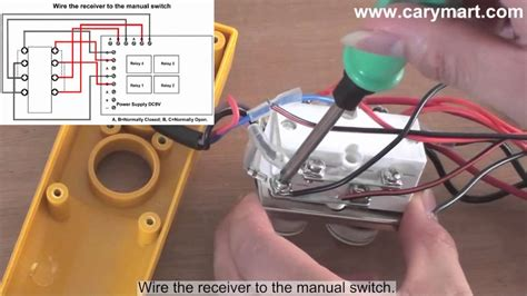 retrofitting manual operated winch  remote controlled