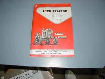 farm tractors  sale ford   owners manual