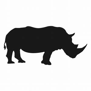Rhino silhouette - Transparent PNG & SVG vector