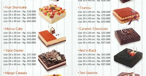 daftar harga menu dapur cokelat terbaru dan alamat resto