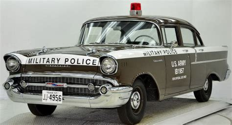 copped   chevy military police car  sale