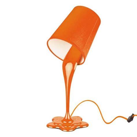 le pot de peinture orange h 36 5cm achat vente le a poser pas cher couleur et design fr