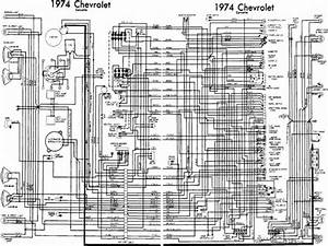 Corvette 1974 Wiring Diagrams Chevy
