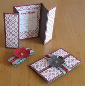 Gutscheine Verpacken Basteln : diy cards cards pinterest gutscheine karten und gutschein basteln ~ Frokenaadalensverden.com Haus und Dekorationen