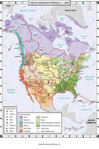 C Native American People $1 500 Map