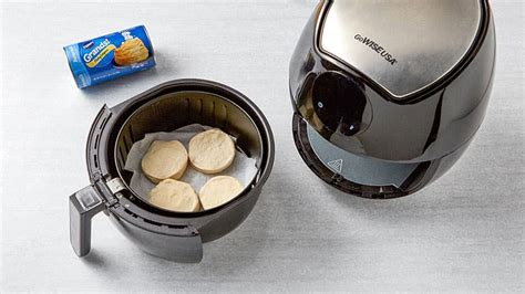fryer air pillsbury biscuits cook airfryer parchment worked tried actually these using ready step