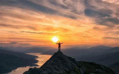 Mountain Sunset Scotland Wallpapers During Right Inspire