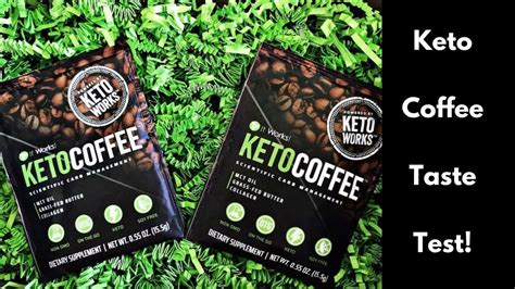 It works keto coffee 15 packets sealed package with mct oil new and improved. It Works! Keto Coffee Taste Test - YouTube