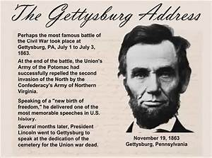 VirtualFieldTripsforStudents - The Gettysburg Address