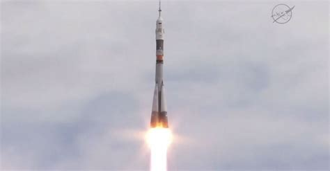 New Crew Of 3 Launches On 2-day Trip To International