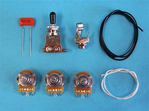 Am Guitar Works 2 Volume 1 Tone 1 Toggle Guitar Wiring Kit