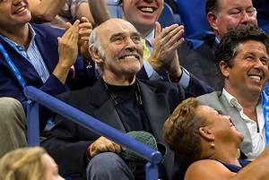 Sean Connery Smiles As U S Open Plays James Bond Theme
