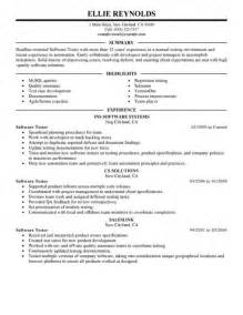 resume for testing profile for experience the software testing experience resume resume