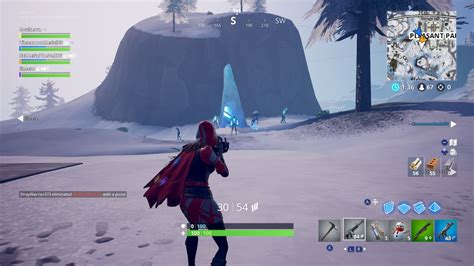fortnite ice storm challenges   destroy  ice