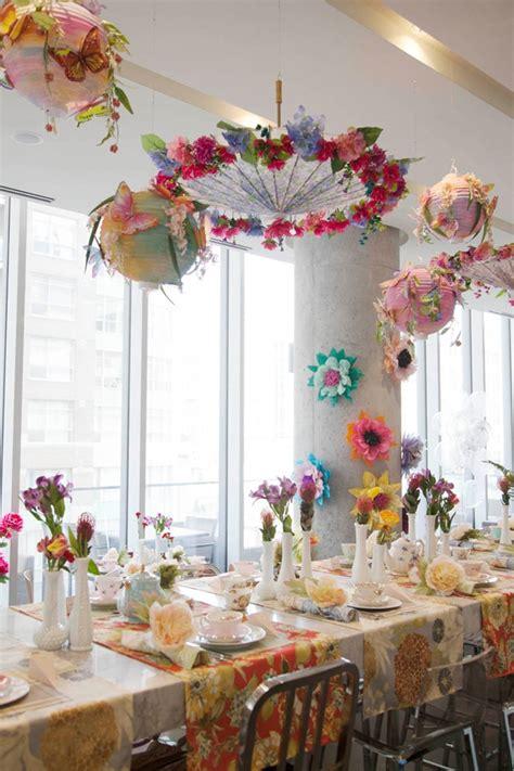 tea bridal shower decorations beautiful floral high tea bridal shower