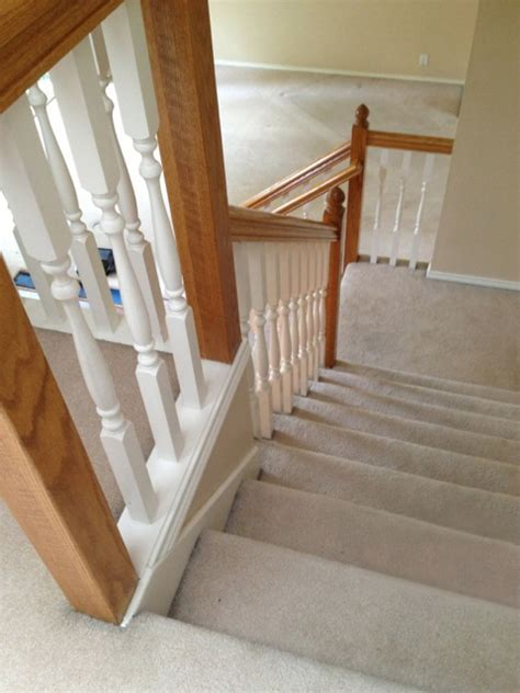 What a Difference Stair Skirt Boards Make   Young & Son