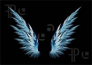 Blue Angel wings - Angels Fan Art (35926497) - Fanpop