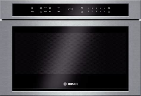 bosch drawer microwave hmd8451uc bosch 800 series 24 quot built in microwave drawer