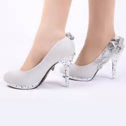silver shoes for wedding 2013 wedding shoes noble rhinestone shoes multicolor silver wedding shoes 12 silver jpg