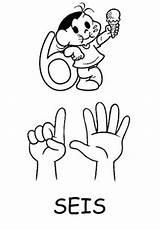 Coloring Number Fingers Finger Bulkcolor Template Bulk sketch template
