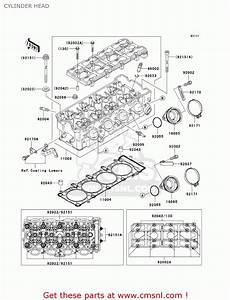 Kawasaki Zx1200a1 Zx12r 2000 Usa California Canada