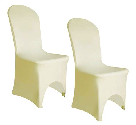 ivory chair covers spandex event essentials