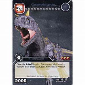 Upper Deck Dinosaur King Card DKCG-069 Carnotaurus (Silver ...