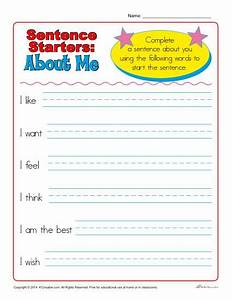 Sentence Starters For Kindergarten And 1st Grade