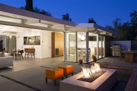 sensational mid century patio designs  improve