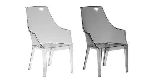 chaise plexi transparente fauteuil design en polycarbonate transparente darsy