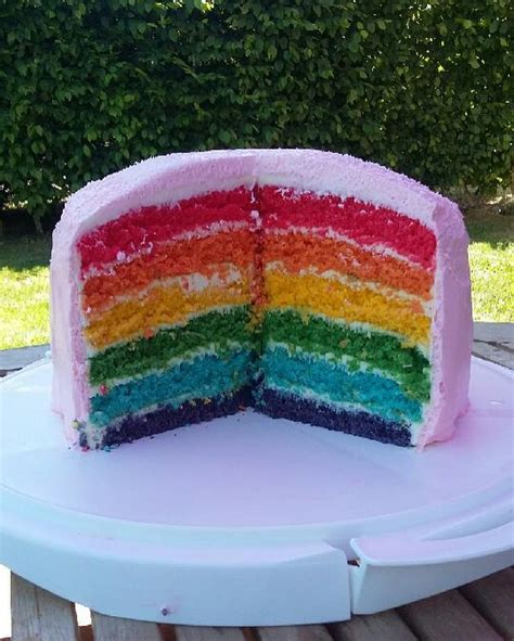 recette du rainbow cake ou g 226 teau arc en ciel facile avec