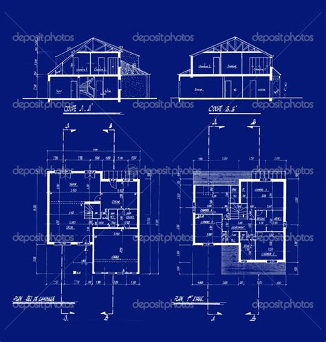 blueprints houses interior4you