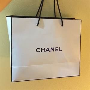 CHANEL - Chanel white shopping bag from Cathy's closet on ...
