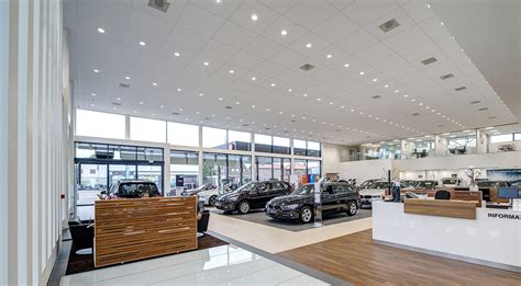 New Bmw Showroom Concept Glamox