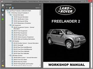 Land Rover Freelander 2 - Service Manual