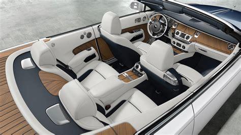 customized rolls royce interior rolls royce unveils bespoke barclay butera quot nautical dawn