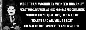 Charlie Chaplin Speech | WeNeedFun