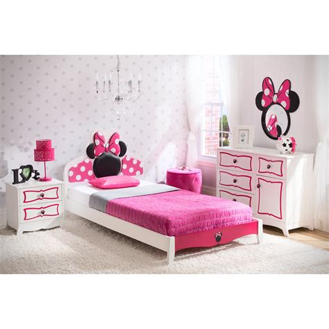 delta children disney minnie mouse panel  piece bedroom