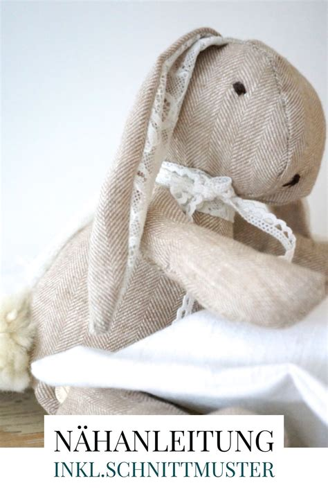 schnittmuster hase einfach hasenkind selbern 228 hen kreativas diy saisonale deko