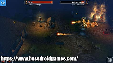 El juego cuenta con un juego de rpg de acción de desplazamiento lateral de hack & slash, toneladas de botín para descubrir, con cientos de etapas para jugar y una arena de pvp para luchar contra otros jugadores por el dominio. Eternium Mod Apk - BOSSDROID