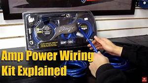 Amp Power Kit Guide  Wire Thickness And Contents Explained