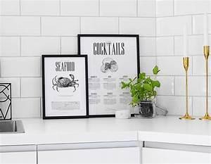 Poster Für Küche : poster f r die k che mit cocktail rezepten stilvolle ~ Michelbontemps.com Haus und Dekorationen