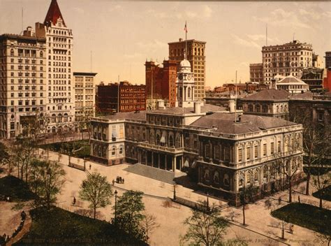 New York City In Color Photographs From The Turn Of The