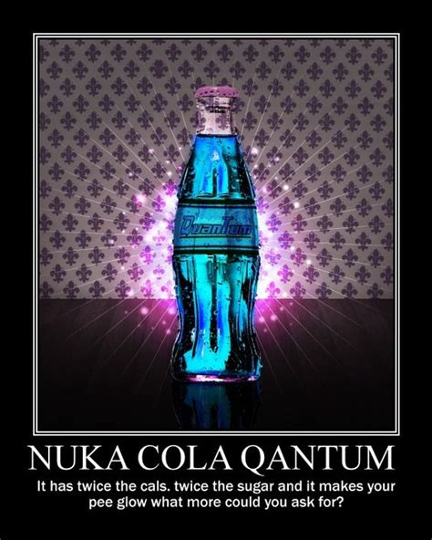 Nuka Cola Quantum Label Fallout 4 by The World S Catalog Of Ideas
