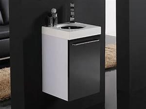 Möbel Für Gäste Wc : badm bel set g ste wc waschbecken waschtisch mit spiegel iris schwarz rot 35cm ebay ~ Indierocktalk.com Haus und Dekorationen