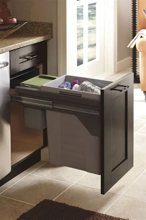 base wastebasket cabinet  compost bin kitchen craft