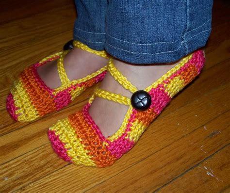 Cute Crochet Slippers Pattern Free