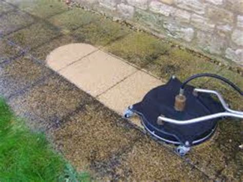 how to clean a concrete or wooden patio