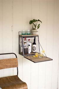 Table Pliante Fixe Au Mur Fabriquer Une Armoire Murale Et