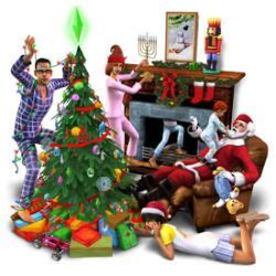 the sims 2 christmas party pack for pc